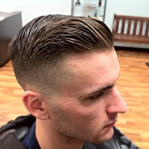 come over hairstyle : Comb Over Fade Hairstyles For Men 10 comb over haircut learn haircuts