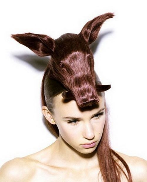 Crazy Haircuts For Women