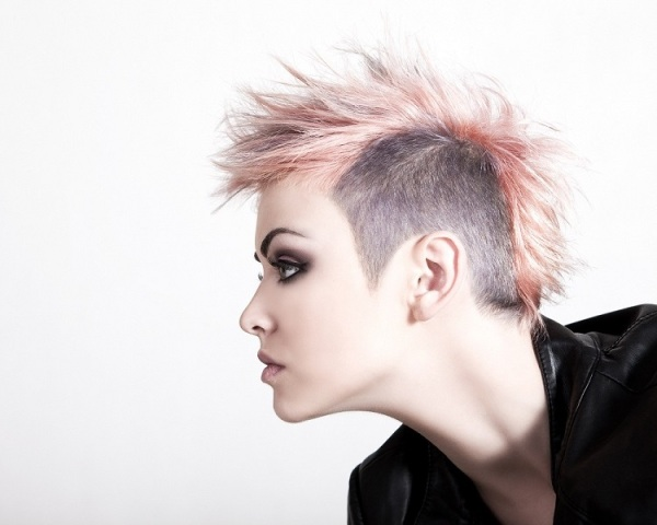 Pics Photos - Short Punk Hairstyles Rock Haircuts For Women Pictures