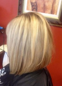 Long Inverted Bob Haircut