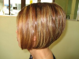 Pictures of Stacked Bob Haircuts