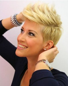 Short Blonde Haircuts For Women