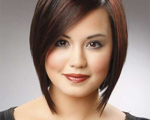 12 Short Haircuts For Round Faces