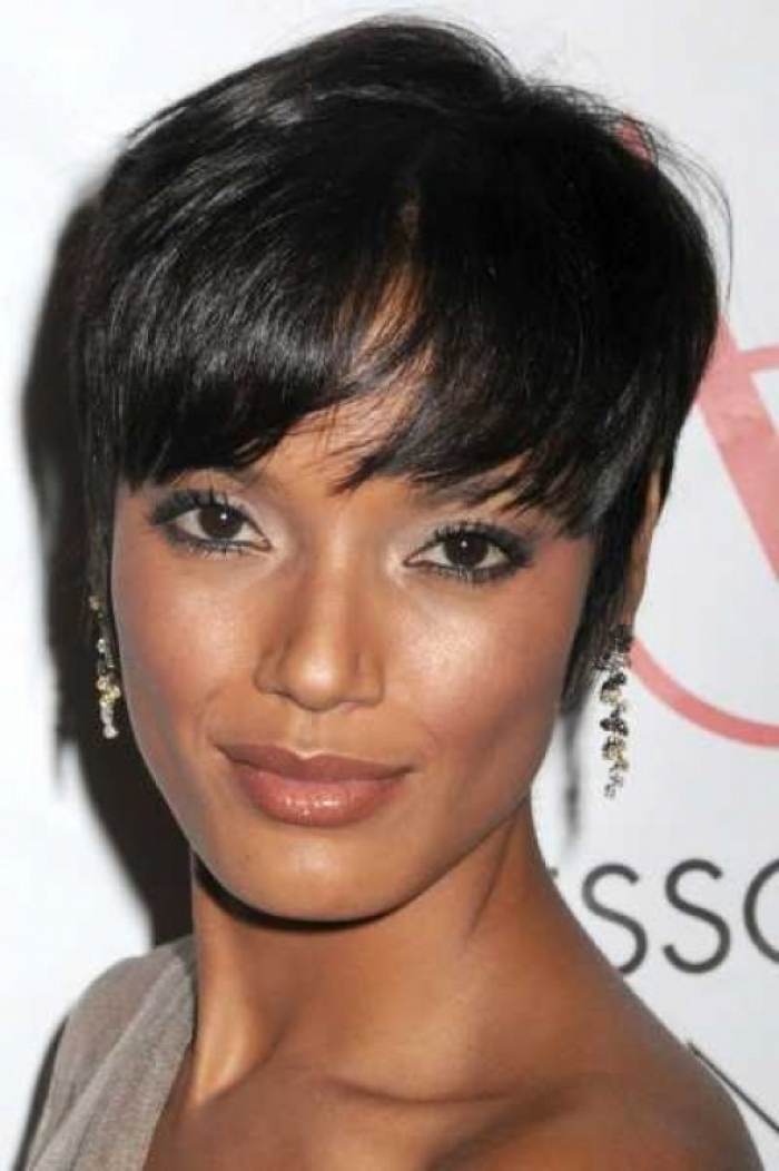 Short Hairstyles For Black Women 37