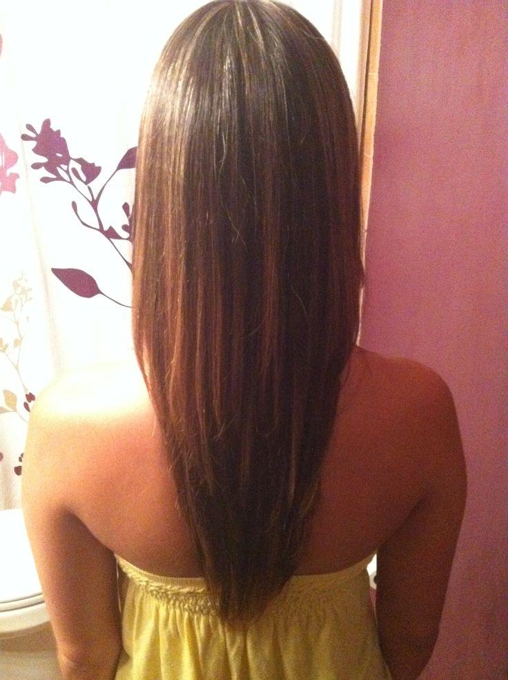 6 V Shaped Haircut