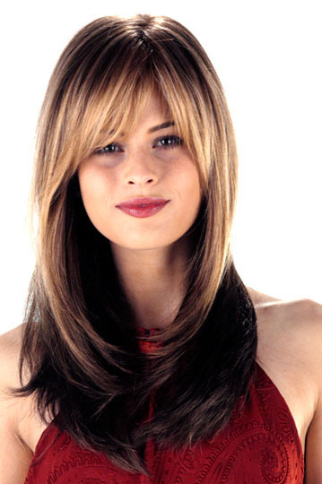 12 Long Haircuts for Round Faces | Learn Haircuts