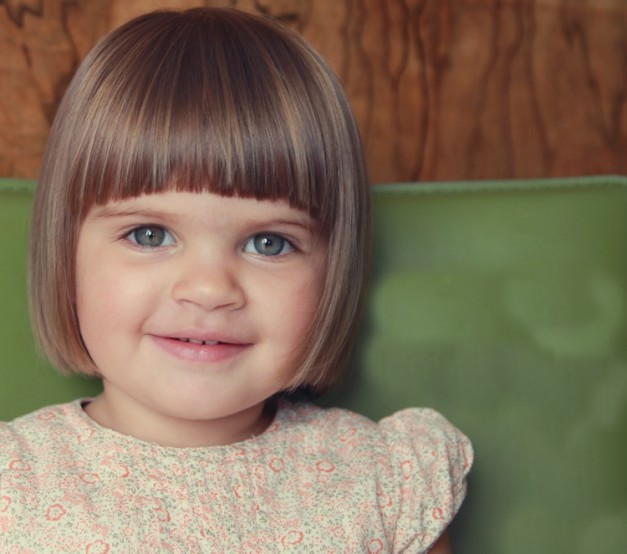 Chiffel Weblogs Adorable Long Layered Baby Hairstyle