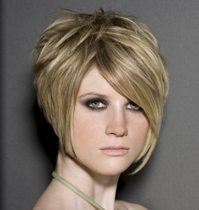 Stacked Short Bob Haircut