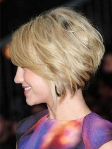 Stacked Short Haircut