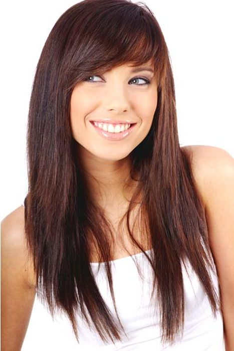 12 Long Haircuts With Bangs | Learn Haircuts