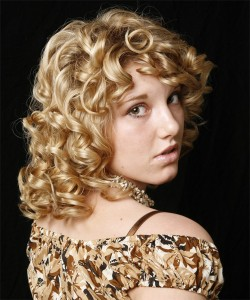 Medium Curly Haircut