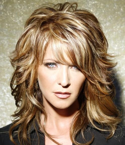Pics Of Hair Cuts : 12 Long Layered Haircuts With Bangs Learn Haircuts