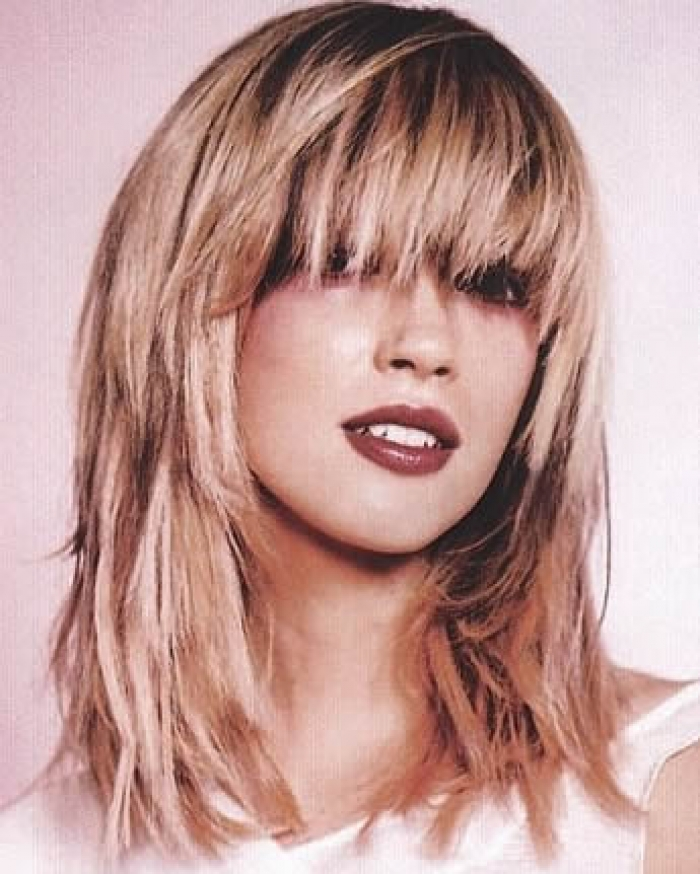 12 Long Layered Haircuts With Bangs | Learn Haircuts