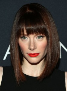 Medium Bob Haircuts With Bangs