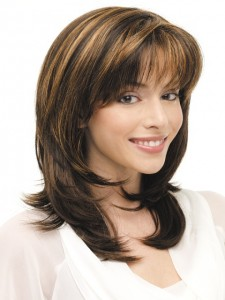 Medium Haircuts With Bangs and Layers