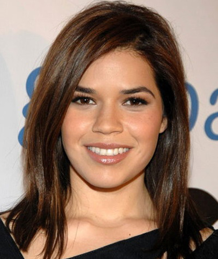 Medium Length Bob Hairstyles Round Face