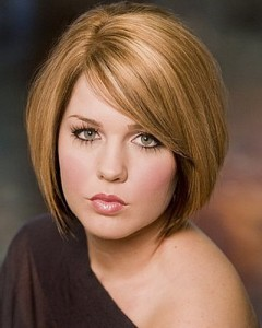 Medium Length Bob Haircuts for Round Faces