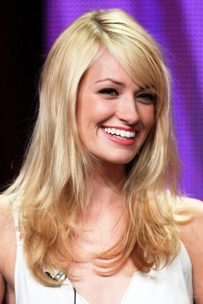 Long Hairstyles with Bangs for Round Faces