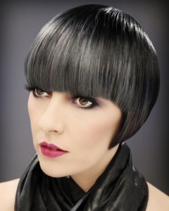 Pictures of Short Haircuts With Bangs